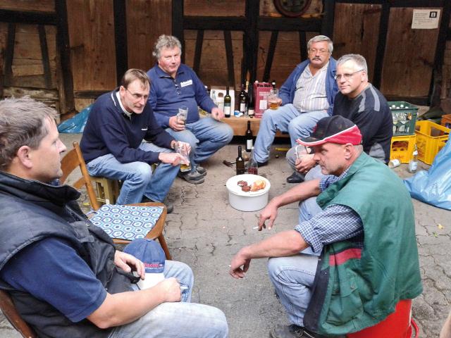 MGV, Männergesangverein, Silberbrunnen-Eintracht, Bahlingen, Hoselipsfest Bahlingen