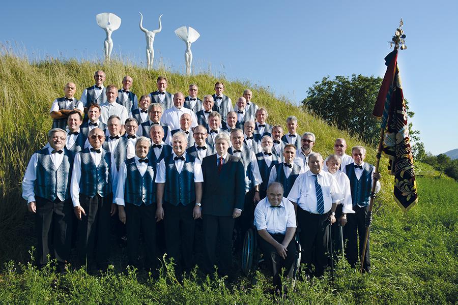 MGV, Männergesangverein, Silberbrunnen-Eintracht, Bahlingen, Saenger + Ehrenmitglieder 2014